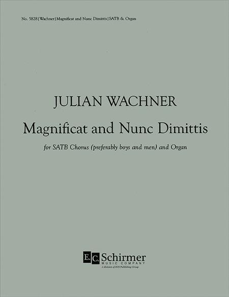 Magnificat and Nunc dimittis (St. Thomas Fifth Avenue)