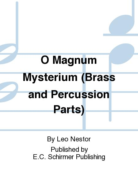 O Magnum Mysterium (Brass and Percussion Parts)
