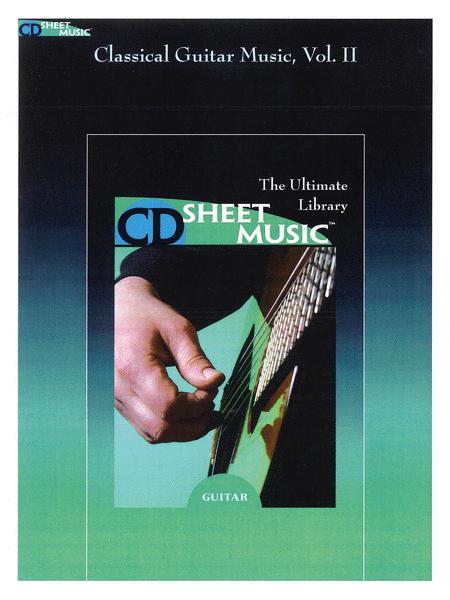 Classical Guitar Music - Volume II (Version 2.0)