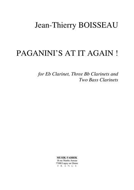 Paganini's at it again