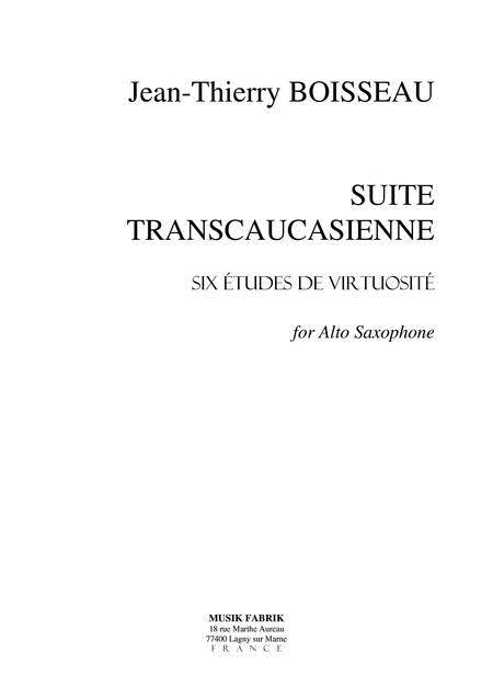 Suite Transcaucasienne (6 etudes)