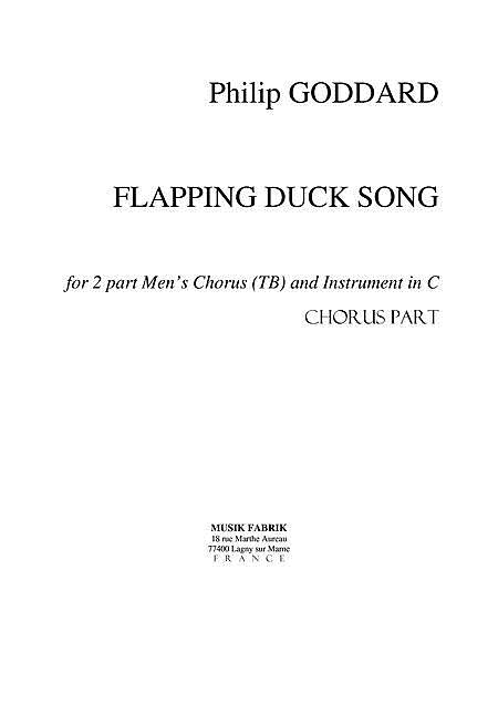 Flapping Duck Song