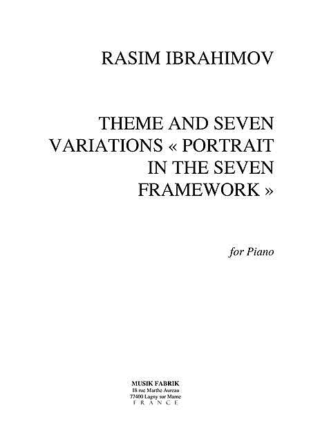 Theme and 7 Variations