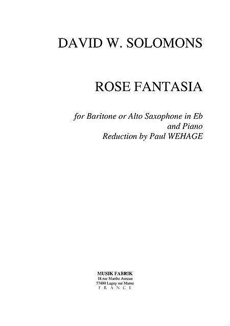 Rose Fantasia