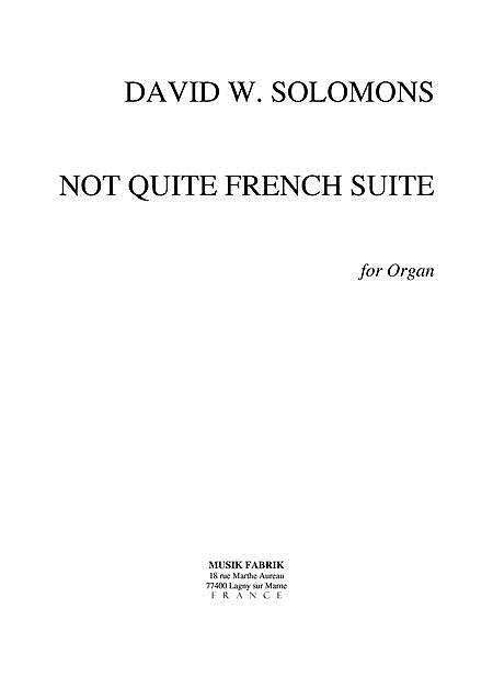 Not Quite French Suite