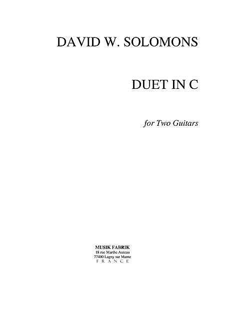 Duet in C