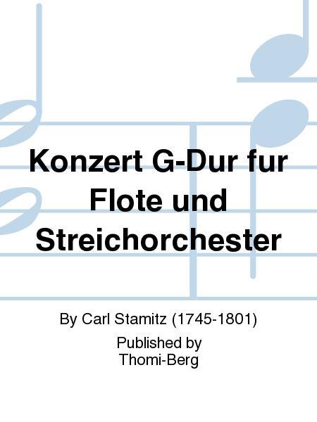 Konzert G-Dur fur Flote und Streichorchester