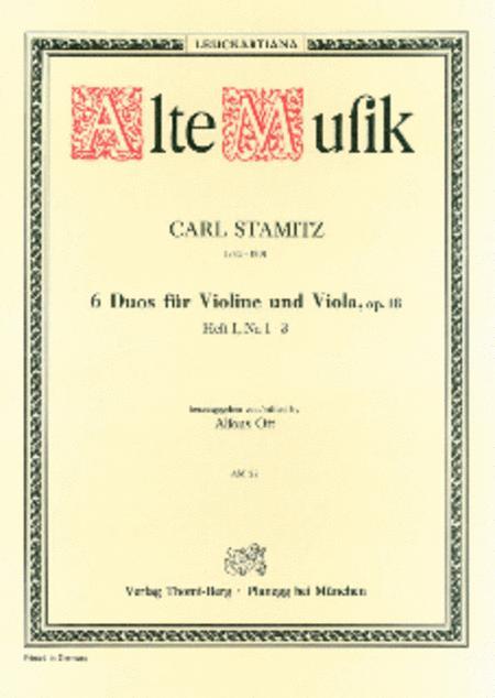 Sechs Duos - Heft I (Nr. 1-3)