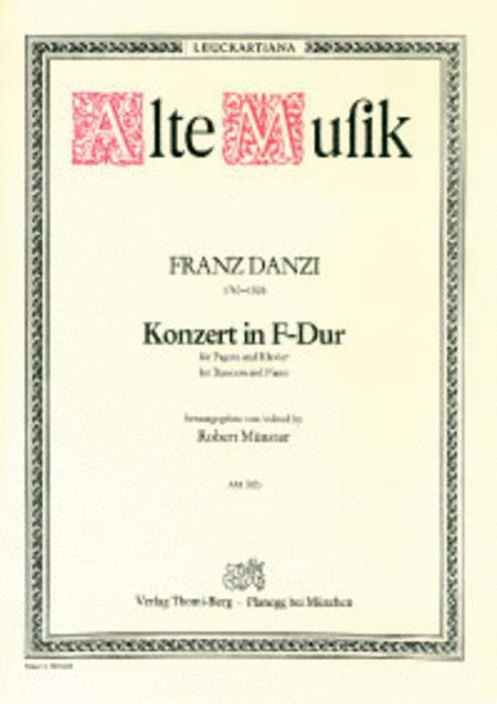 Konzert F-Dur fur Fagott und Orchester