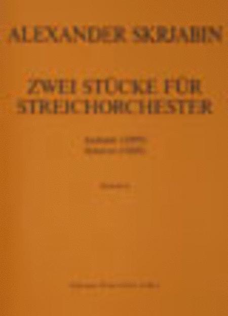 Zwei Stucke fur Streichorchester: Andante (1899) / Scherzo (1888)