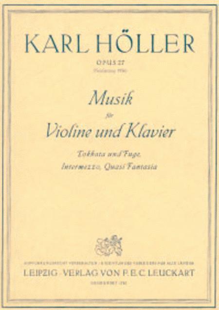 Musik fur Violine und Klavier