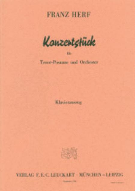 Konzertstuck fur Tenorposaune und Orchester