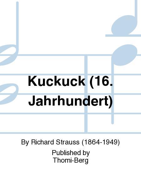 Kuckuck (16. Jahrhundert)