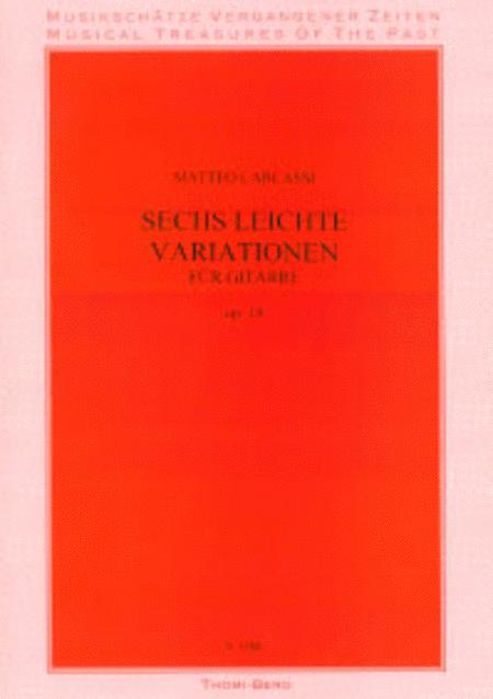 Sechs leichte Variationen