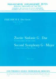 2. Sinfonie fur Streichorchester und Cembalo