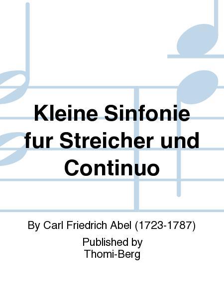 Kleine Sinfonie fur Streicher und Continuo