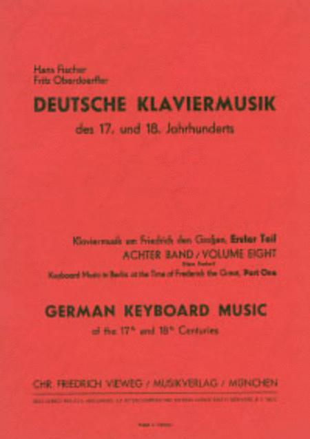 Klaviermusik um Friedrich den Grossen (I)