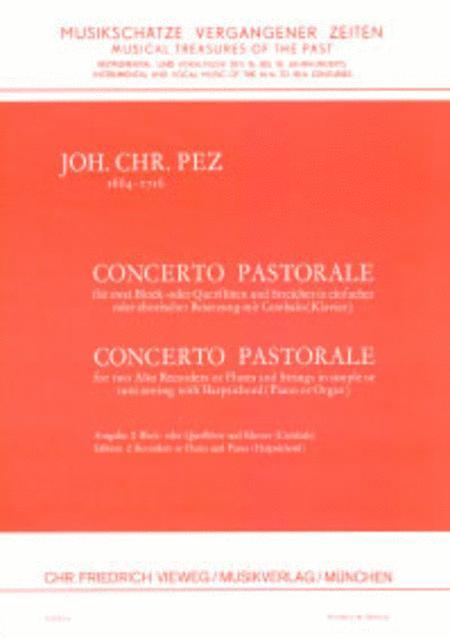 Concerto pastorale for Altblockflote und Streicher