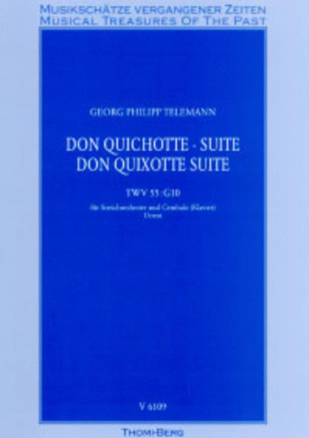 Don Quichotte - Suite fur Streichorchester und Cembalo