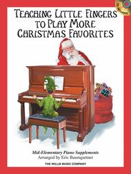 Teaching Little Fingers to Play More Christmas Favorites - Book/CD