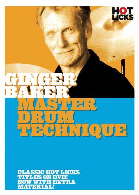 Ginger Baker - Master Drum Technique