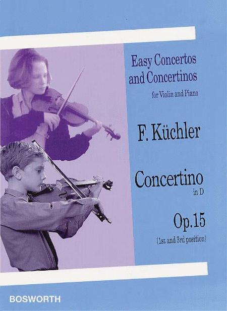 Concertino in D, Op. 15 (1st and 3rd position)