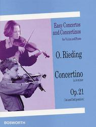 Concertino in A Minor for Violin and Piano Op. 21
