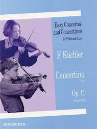 Concertino in G, Op. 11 (1st and 3rd position)