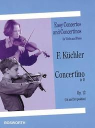 Concertino in D, Op. 12 (1st and 3rd position)