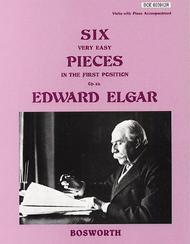 6 Very Easy Pieces for Violin Op. 22