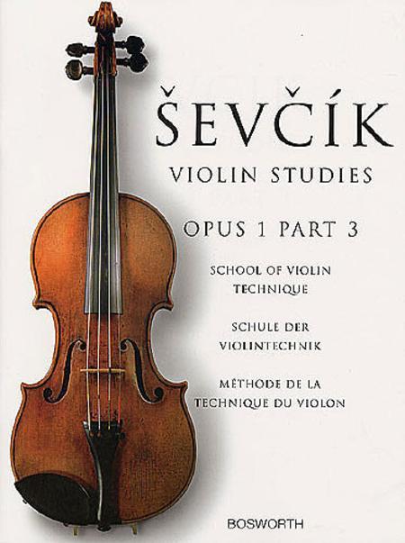 Sevcik Violin Studies - Opus 1, Part 3