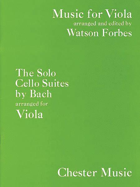 The Solo Cello Suites