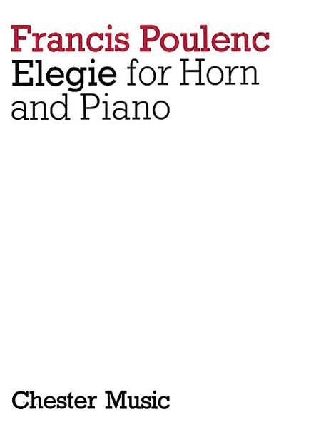 Elegie for Horn and Piano