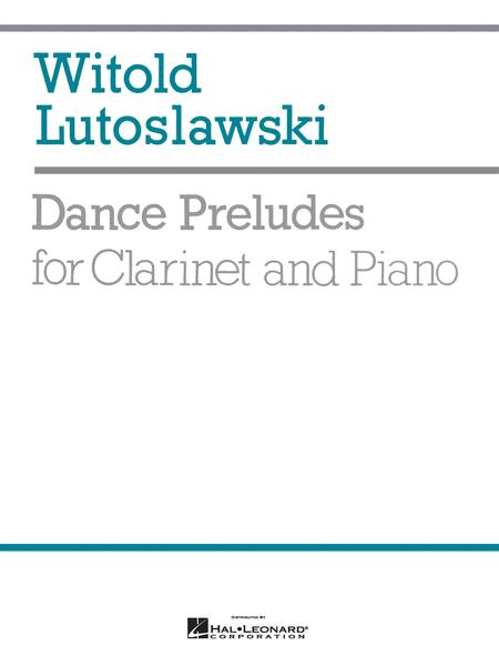 Dance Preludes for Clarinet and Piano