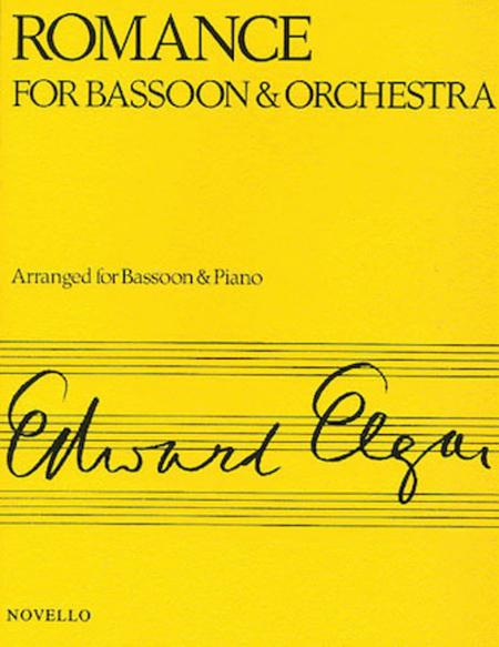Romance For Bassoon And Orchestra (Bassoon/Piano)