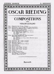 Oskar Rieding: Gypsies' March Op.23 No.2 Violin And Piano