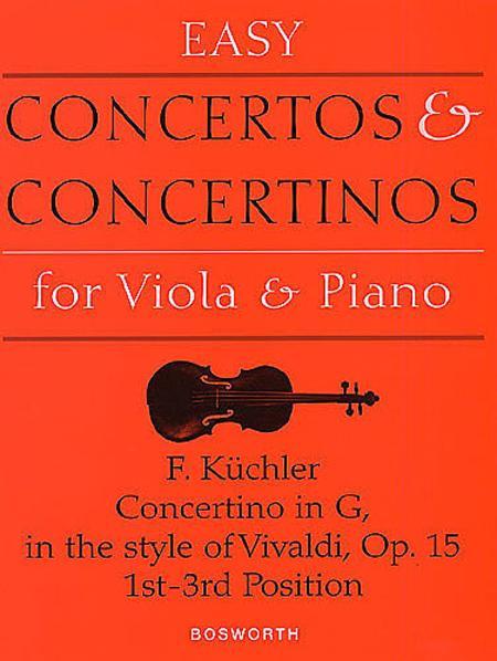 Concertino Op. 15