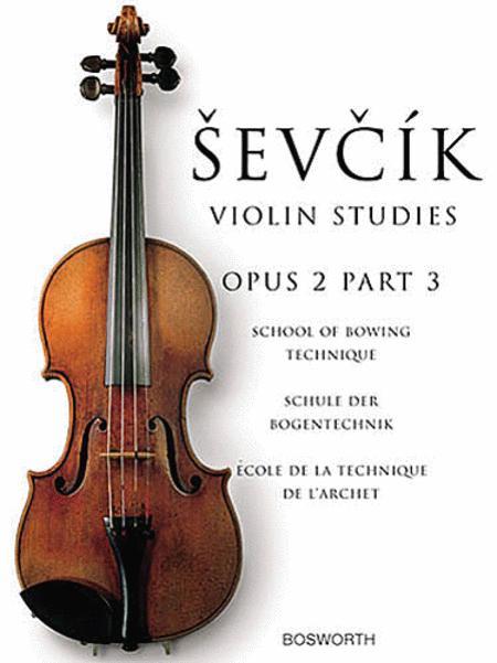 Sevcik Violin Studies - Opus 2, Part 3
