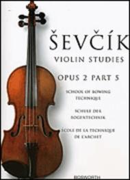 Sevcik Violin Studies - Opus 2, Part 5