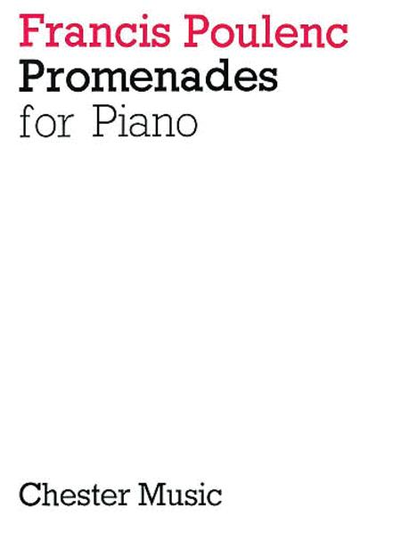 Promenades for Piano