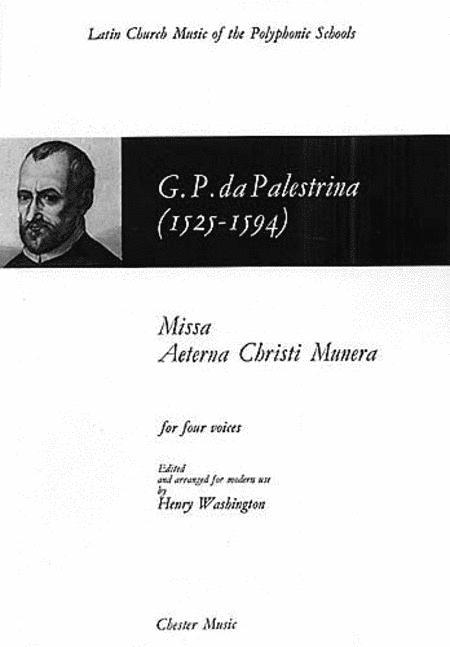 Missa Aeterna Christi Munera