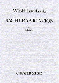 Witold Lutoslawski: Sacher Variation For Solo Cello