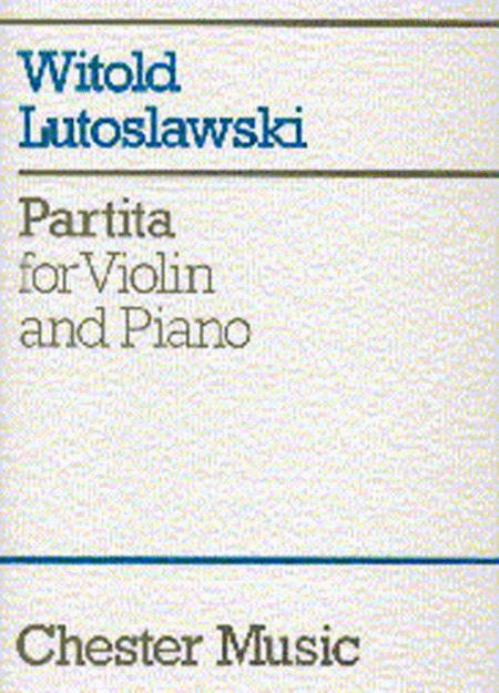 Partita for Violin and Piano