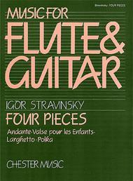 Igor Stravinsky: Four Pieces (Flute and Guitar)