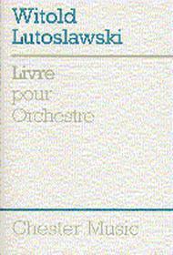 Livre Pour Orchestra