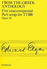 Five Unaccompanied Part-Songs for TTBB - Op. 45