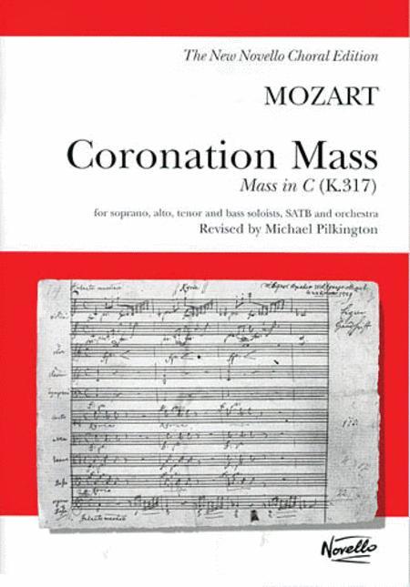 W.A. Mozart: Coronation Mass: Mass In C K.317 (Vocal Score)