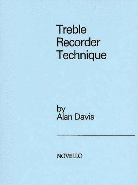 Treble Recorder Technique