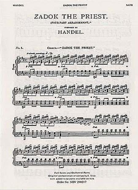 Zadok the Priest (Coronation Anthem No. 1)