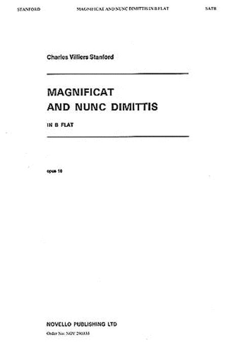 Magnificat and Nunc Dimittis in B Flat
